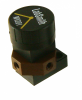 "CapTite microfluidic 3-port manual valve,  1/16"" tubing"