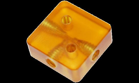 Microfluidic interconnect- CapTite tee interconnect