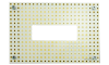 Microfluidics breadboard with cutout for microscope imaging LS-600-CH