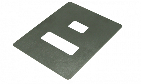 Stainless Steel Sample Plate (A-SVM-PLATE2) for use with SVY340 Video Microscope