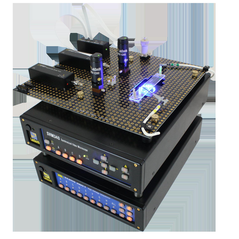 LabPackage Microfluidics Workstation