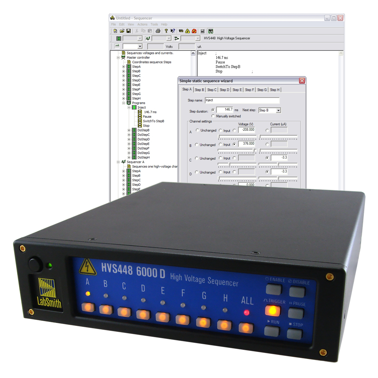 LabSmith High Voltage Control Products